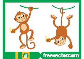 Happy Monkey Characters
