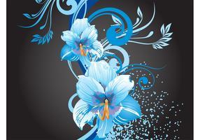 Blue Flowers Graphics