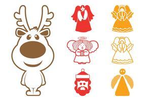 Christmas Characters Graphics
