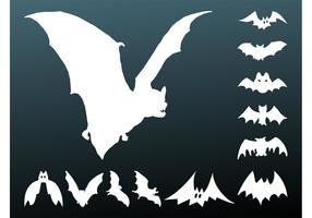 Bats Silhouettes