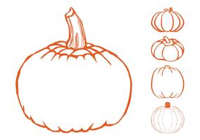 Pumpkins Graphics Set