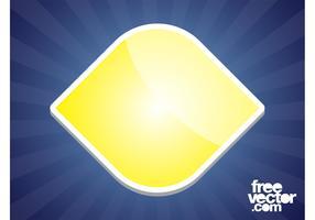 Yellow Sticker Design
