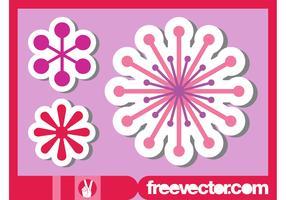 Flower Stickers Set