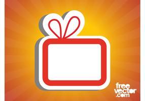 Gift Box Sticker