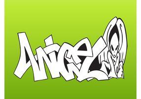 Angel Alien Graffiti