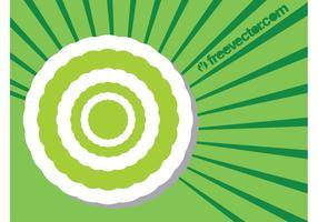 Round Sticker Template