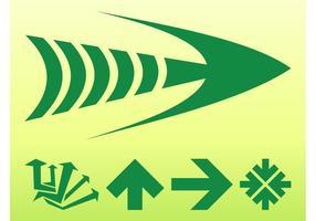 Green Arrows Graphics