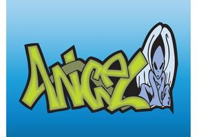 Angel Graffiti Piece