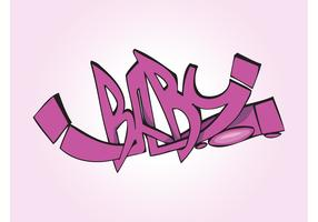 Baby Graffiti Piece