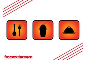 Foods And Drinks Icons