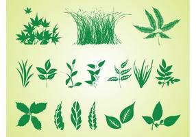 Plant Silhouettes Free Graphics