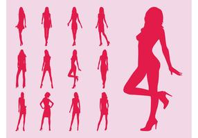 Model Girls Silhouettes
