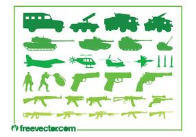 Military Vehicles Weapons Graphics