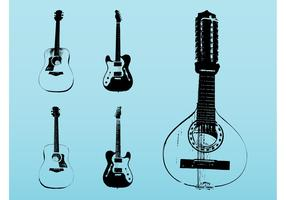 String Instruments Set