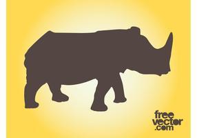 Rhino Silhouettes Graphics