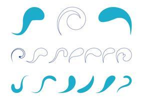 Abstract Swirls Set