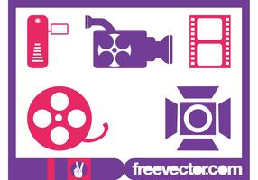 Cinema And Video Icons