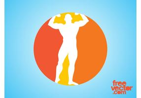 Bodybuilder Icon Graphics
