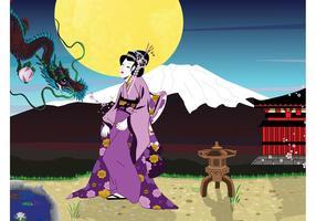 Geisha Background