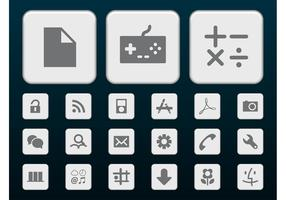 Gray Tech Icons