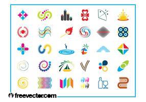 Colorful Logo Icons Set