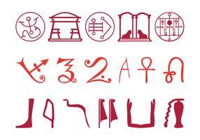 Egyptian Symbol Set