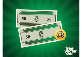 Dollar Bills Vector