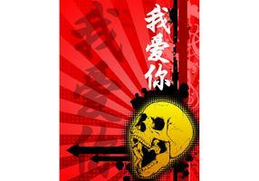 Skull Poster Template