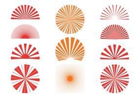 Sunburst Patterns Set