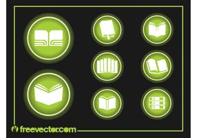 Book Icons Graphics