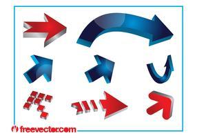 3D Arrows Designs