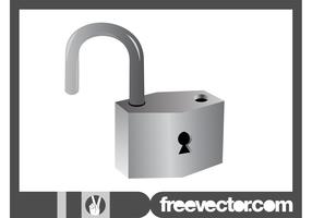 Open Padlock Graphics