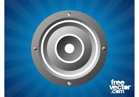 Round Speaker Graphics