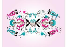 Floral Scrolls Design