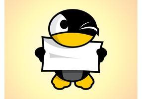 Cartoon Penguin Character