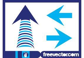 Blue Arrows Graphics