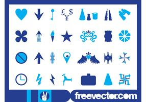 Icons And Symbols Graphics Pack