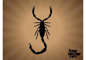 Scorpion Silhouette Graphics