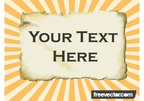 Burned Parchment