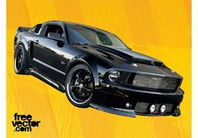 Black GT Car