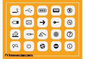 Square Icons Designs