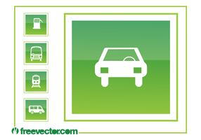 Driving Icons Graphics