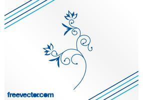 Blue Flower Image