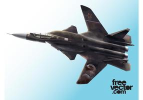 Fighter Jet Vector Graphics