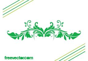 Free Swirling Leaves Vector