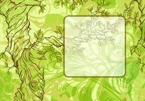Whimsical Tree Frame Vectors