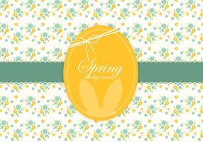 Floral Spring Easter Vector