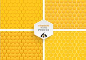 Honeycomb Vector Patterns