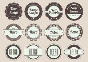 Retro Badge Vectors