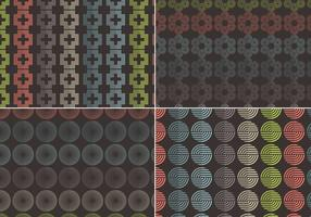 Abstract Seamless Vector Patterns